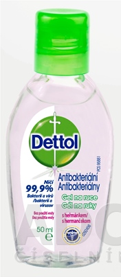 Dettol antibakteriálny gél na ruky s rumančekom