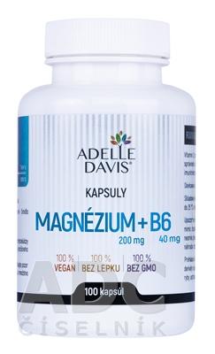 ADELLE DAVIS Magnézium (200 mg) + B6 (40 mg)