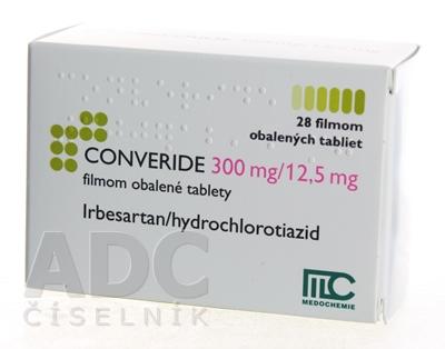 CONVERIDE 300 mg/12,5 mg
