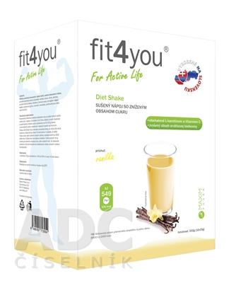 Fit4You Diet Shake VANILKA