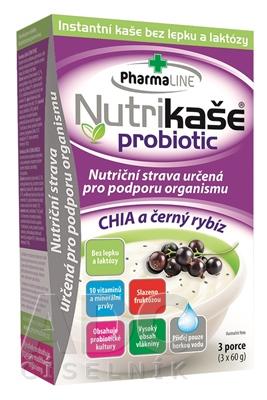 Nutrikaša probiotic - CHIA a čierna ríbezla