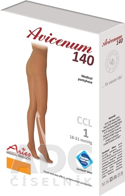 AVICENUM 140 Pančuchové nohavice, Micro