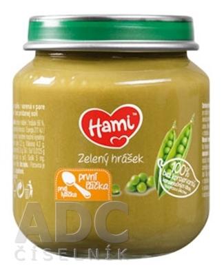 Hami zeleninový príkrm Zelený hrášok
