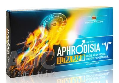 """APHRODISIA """"V"""" Ultra Rapid pre mužov"""