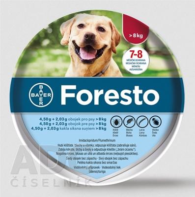 Foresto obojok pre psy nad 8 kg