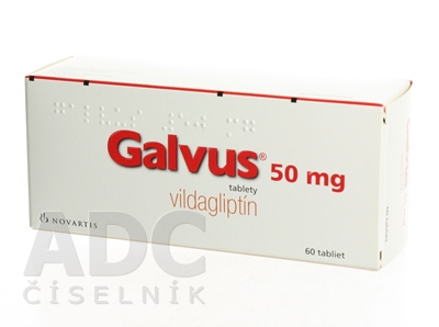 Galvus 50 mg tablety