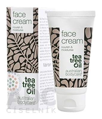 ABC Tea Tree Oil FACE CREAM - Pleťový krém
