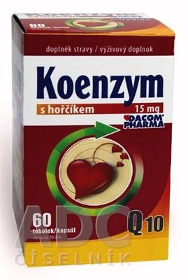 DACOM Koenzým Q10 15 mg s horčíkom
