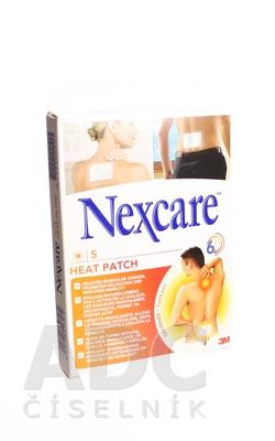 3M Nexcare HEAT PATCH, Náplasť hrejivá [SelP]