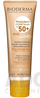 BIODERMA Photoderm COVER Touch SPF 50+ light
