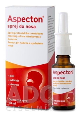 Aspecton sprej do nosa