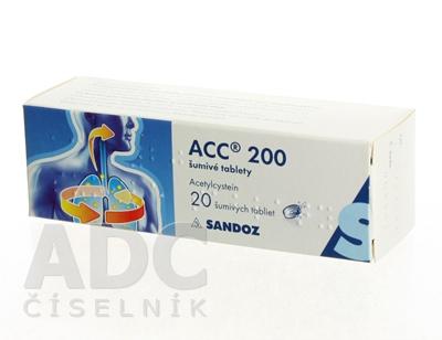 ACC 200 šumivé tablety