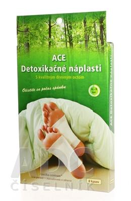 ACE detoxikačné náplasti ANEŽKA CENTRUM