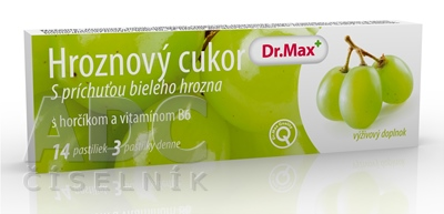 Dr.Max HROZNOVY CUKOR s horčíkom a vitamínom B6