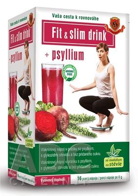 HERBEX FIT & SLIM drink + Psyllium