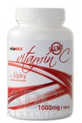 VITAMAX Vitamín C 1000 mg All Day + šípky