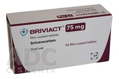 Briviact 100 mg filmom obalené tablety