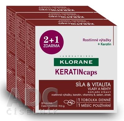 KLORANE KERATINcaps (TRIO)