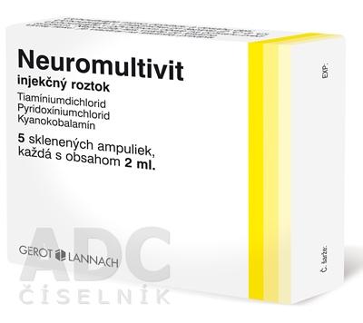 Neuromultivit injekčný roztok