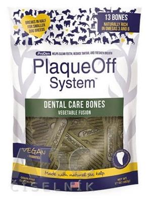 ProDen PlaqueOff Dental Care Bones Vegetable
