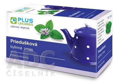 PLUS LEKÁREŇ Priedušková bylinná zmes