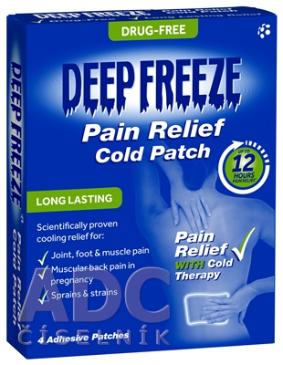 Deep Freeze Pain Relief Cold Patch