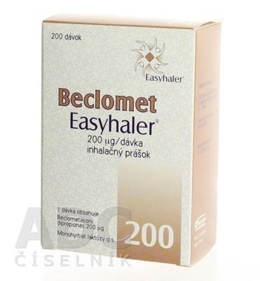 BECLOMET EASYHALER 200 mcg