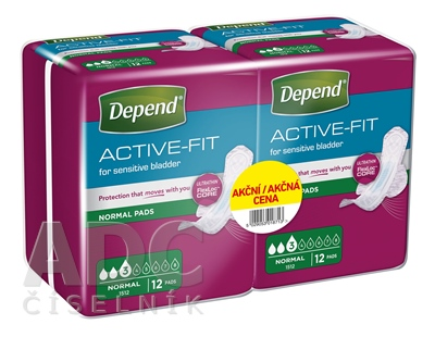 DEPEND ACTIVE-FIT Normal DUOPACK