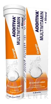 ADDITIVA MULTIVITAMÍN + Minerál, Orange