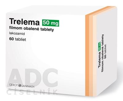 Trelema 50 mg filmom obalené tablety