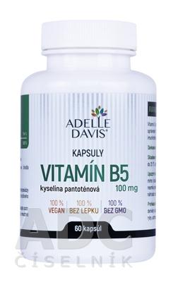ADELLE DAVIS VITAMÍN B5, kys. pantoténová 100 mg