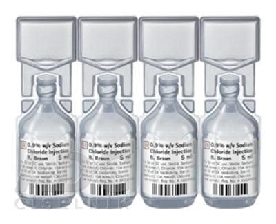 Chlorid sodný 0,9 % Braun Injekčný roztok