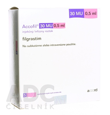 Accofil 30 MU/0,5 ml