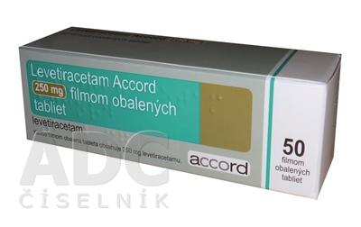 Levetiracetam Accord 250 mg