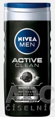 NIVEA MEN SPRCHOVÝ GÉL Active Clean