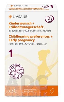 LIVSANE Pred otehotnením a rané tehotenstvo 1