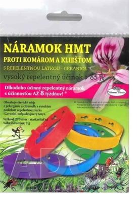 Náramok HMT proti komárom a kliešťom