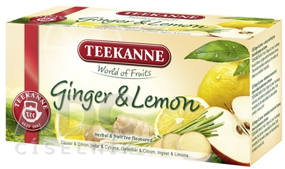 TEEKANNE WOF GINGER & LEMON