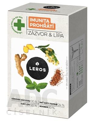 LEROS IMUNITA PREHRIATIE ZÁZVOR & LIPA