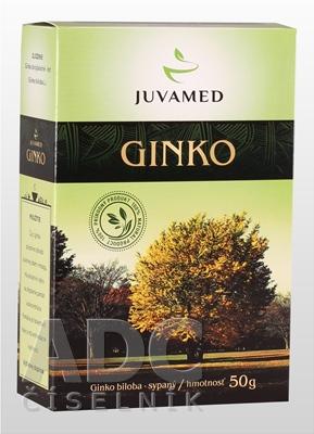 JUVAMED GINKO BILOBA - LIST