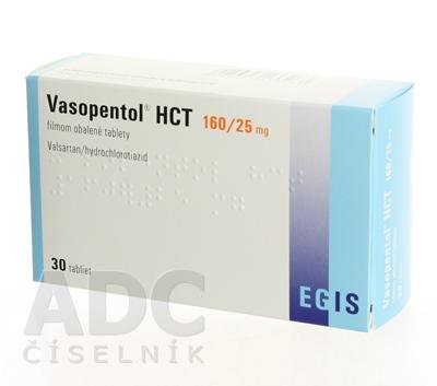 Vasopentol HCT 160/25 mg