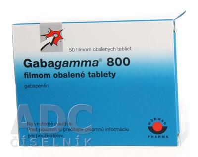 Gabagamma 800 filmom obalené tablety