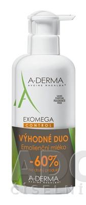 A-DERMA EXOMEGA CONTROL LAIT ÉMOLLIENT (DUO)