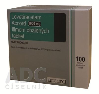 Levetiracetam Accord 1000 mg