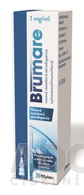 Brumare 1 mg/ml nosová roztoková aerodisperzia