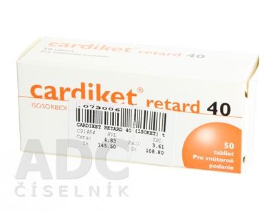 Cardiket Retard 40