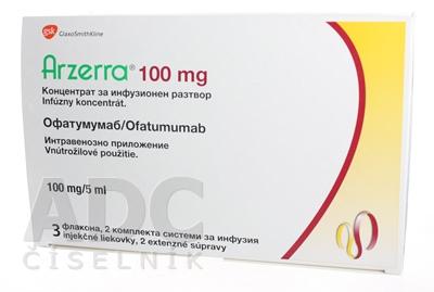 Arzerra 100 mg infúzny koncentrát