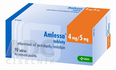 Amlessa 4 mg/5 mg tablety
