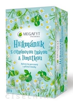 MEGAFYT RUMANČEK s citrónovou trávou & limetkou