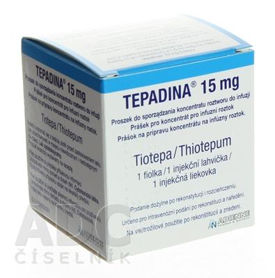 TEPADINA 15 mg prášok na infúzny koncentrát